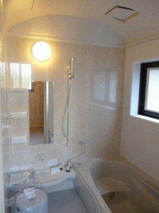 長く住むことを考えて決めた免疫住宅 浴室