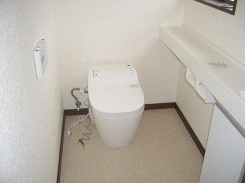 タンクレストイレですっきり