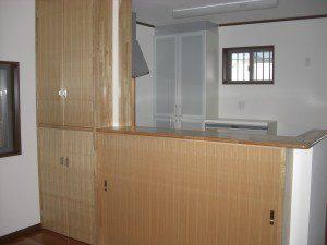 こだわりの和室のある家 キッチン
