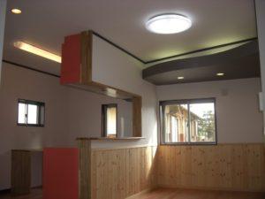 キッチンにデザイン性のある家 キッチン