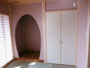 機能性を重視した家 和室