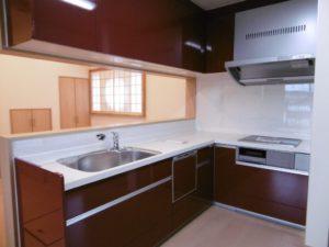 機能性を重視した家 キッチン
