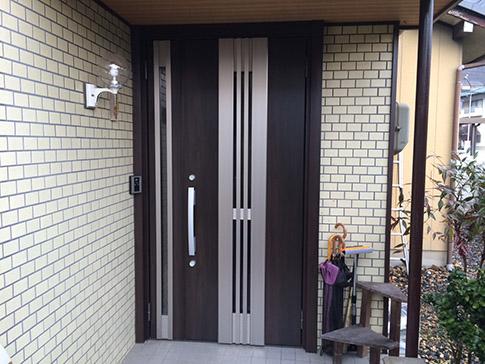 採風断熱玄関ドア