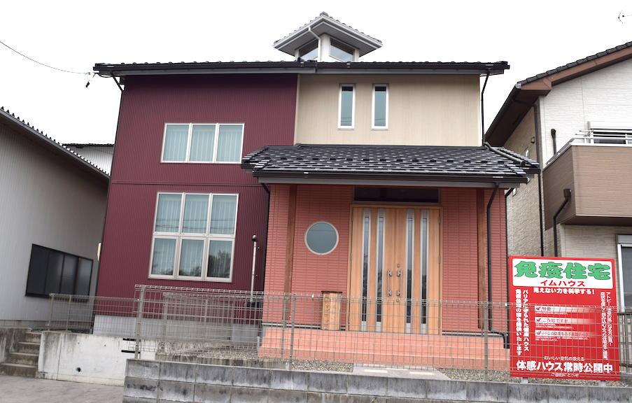 堀伊木材の体感健康住宅 イムハウス 無料相談受け付け中