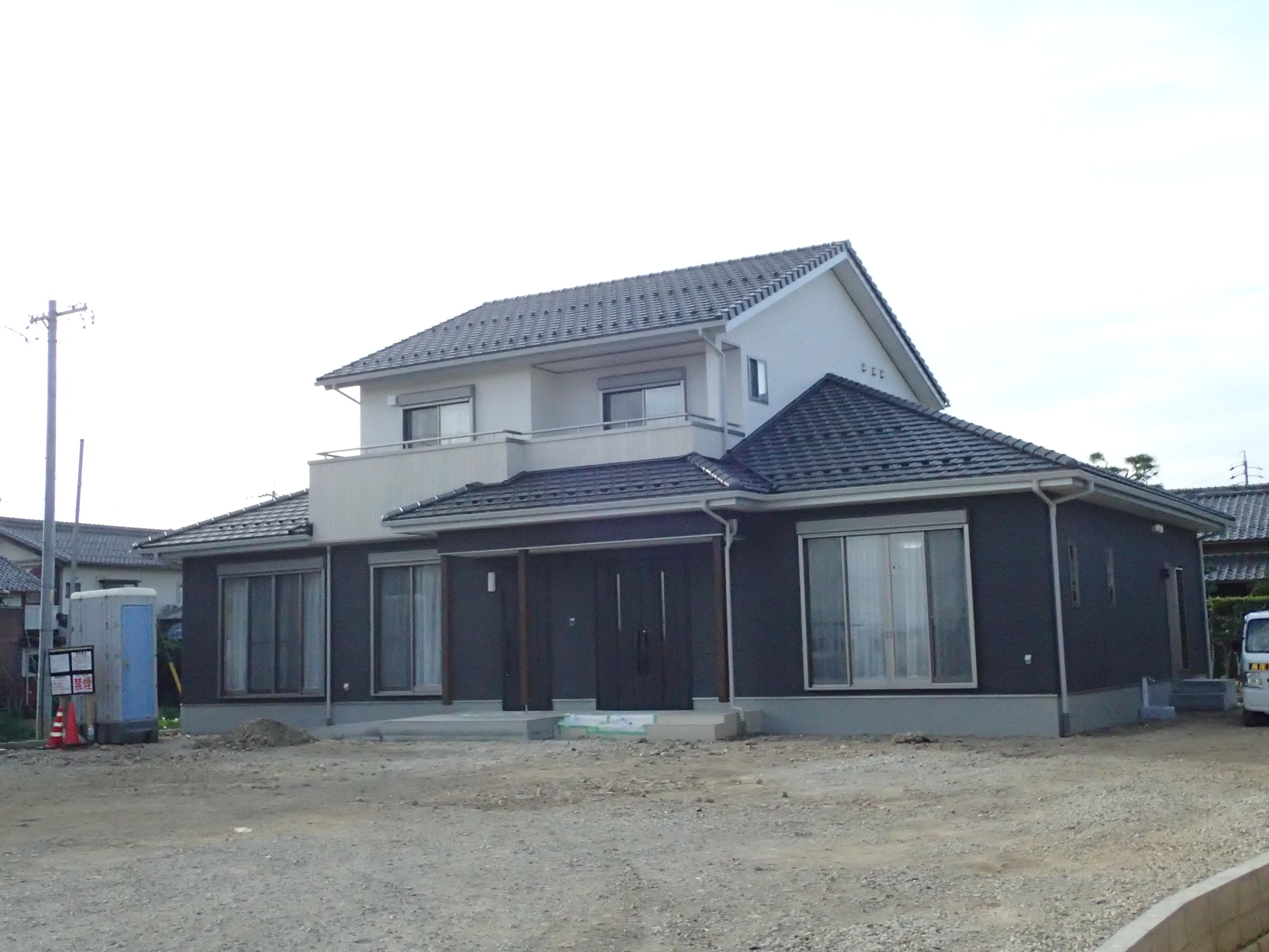2世帯住宅の大きなお家