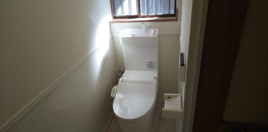 トイレを新しくして快適に★