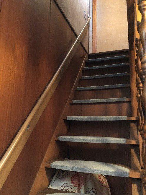 階段ののぼりおりが大変‼