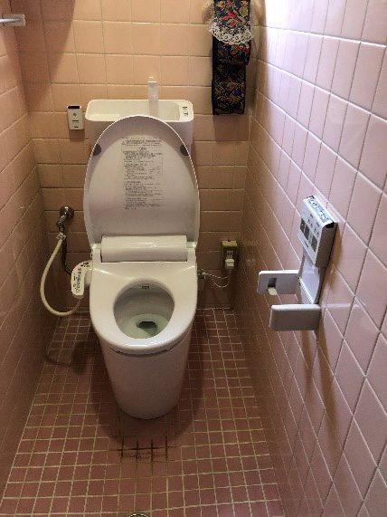 トイレの取り替え