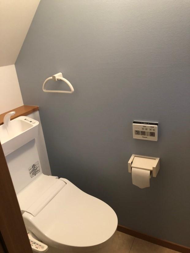 トイレの取り換え
