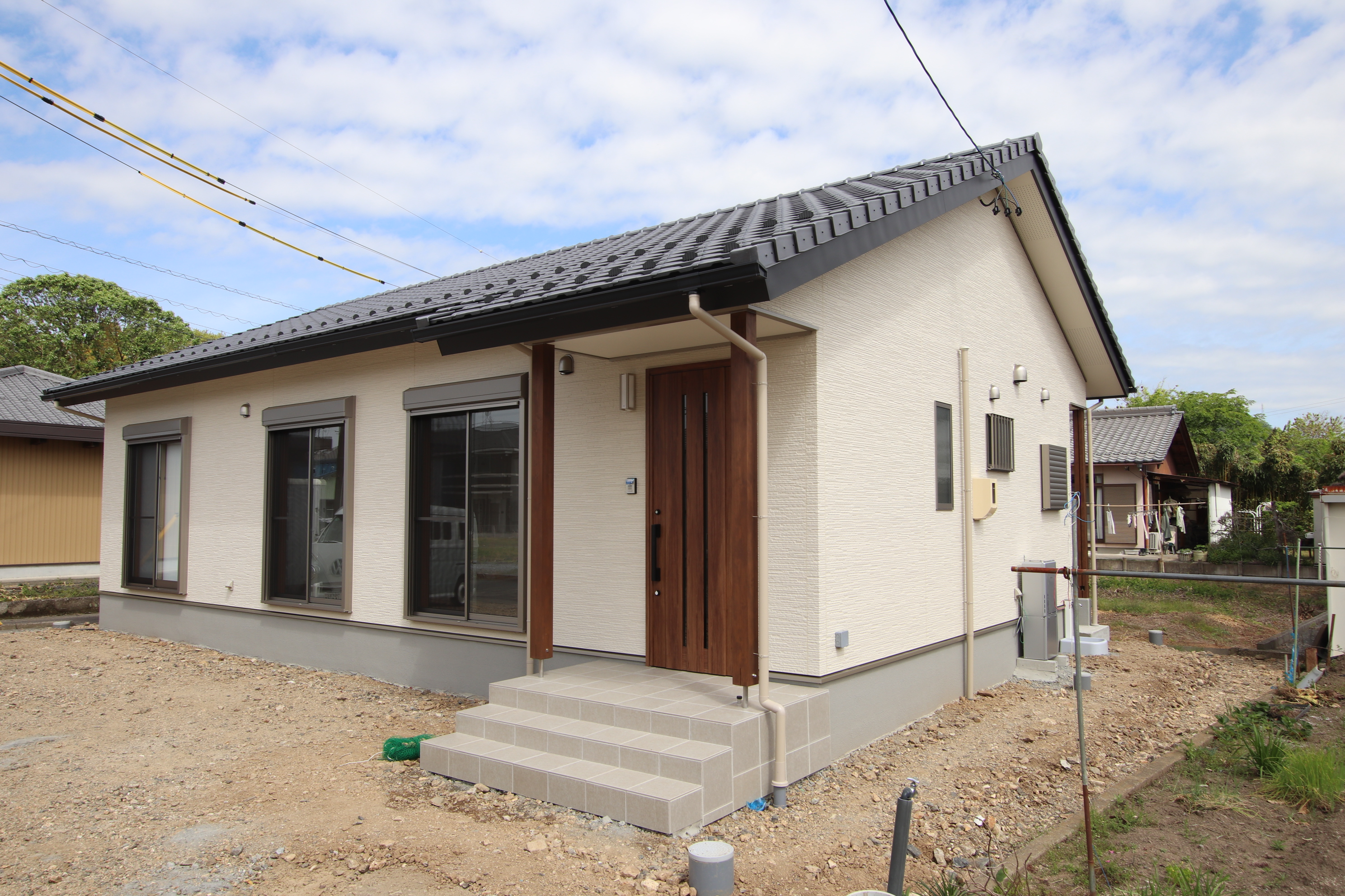 ムダのない25坪の平屋の家